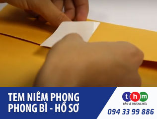 Tem Niêm Phong - Tem Bảo Hành | IN TEM CHỐNG GIẢ