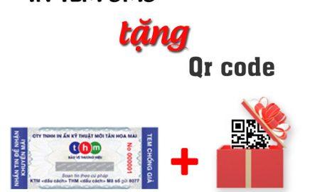 In Tem Điện Tử Chống Giả Tặng Qr Code | IN TEM CHỐNG GIẢ